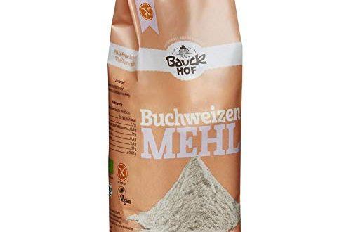 Bauck HOF Buchweizenmehl Vollkorn (1 x 500 g)