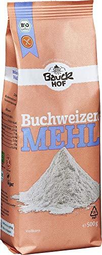 Bauckhof Bio Bauck Bio Buchweizenmehl, Vollkorn, glutenfrei (2 x 500 gr)