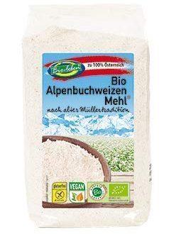 Bio Buchweizenmehl glutenfrei 2,4 kg gentechnikfreie Vollkorn Rohkost Buchweizen extra gereinigt aus Österreich 6x400g