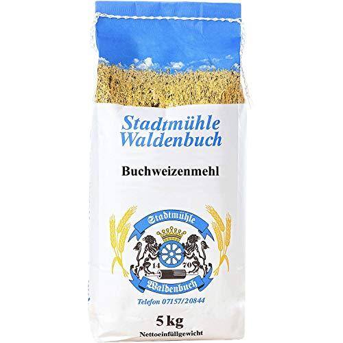 Buchweizenmehl 5 kg   feinste Bäckerqualität