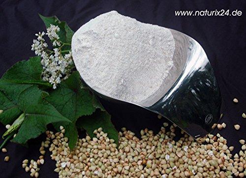 Naturix24 – Buchweizenmehl – 1 Kg-Beutel